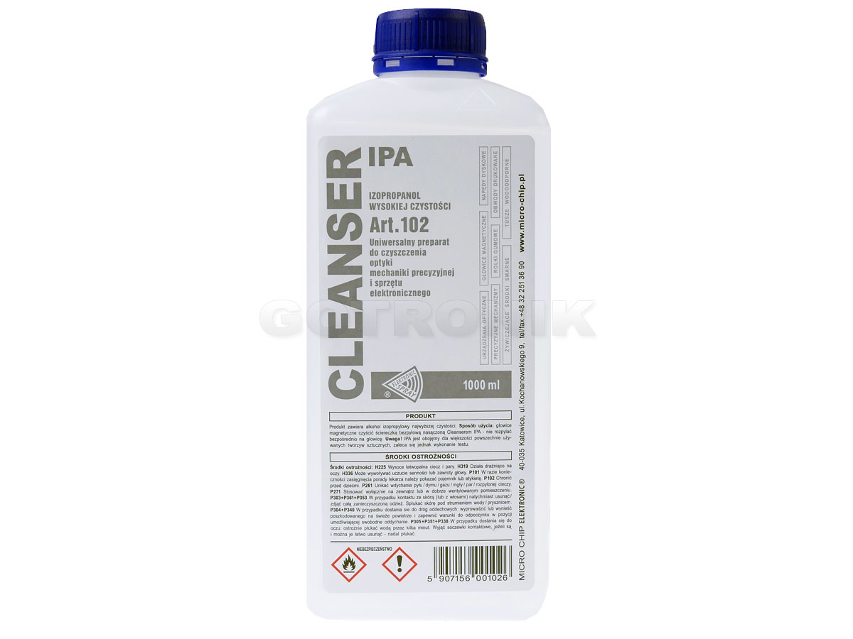 Cleanser Ipa 1000ml art.102