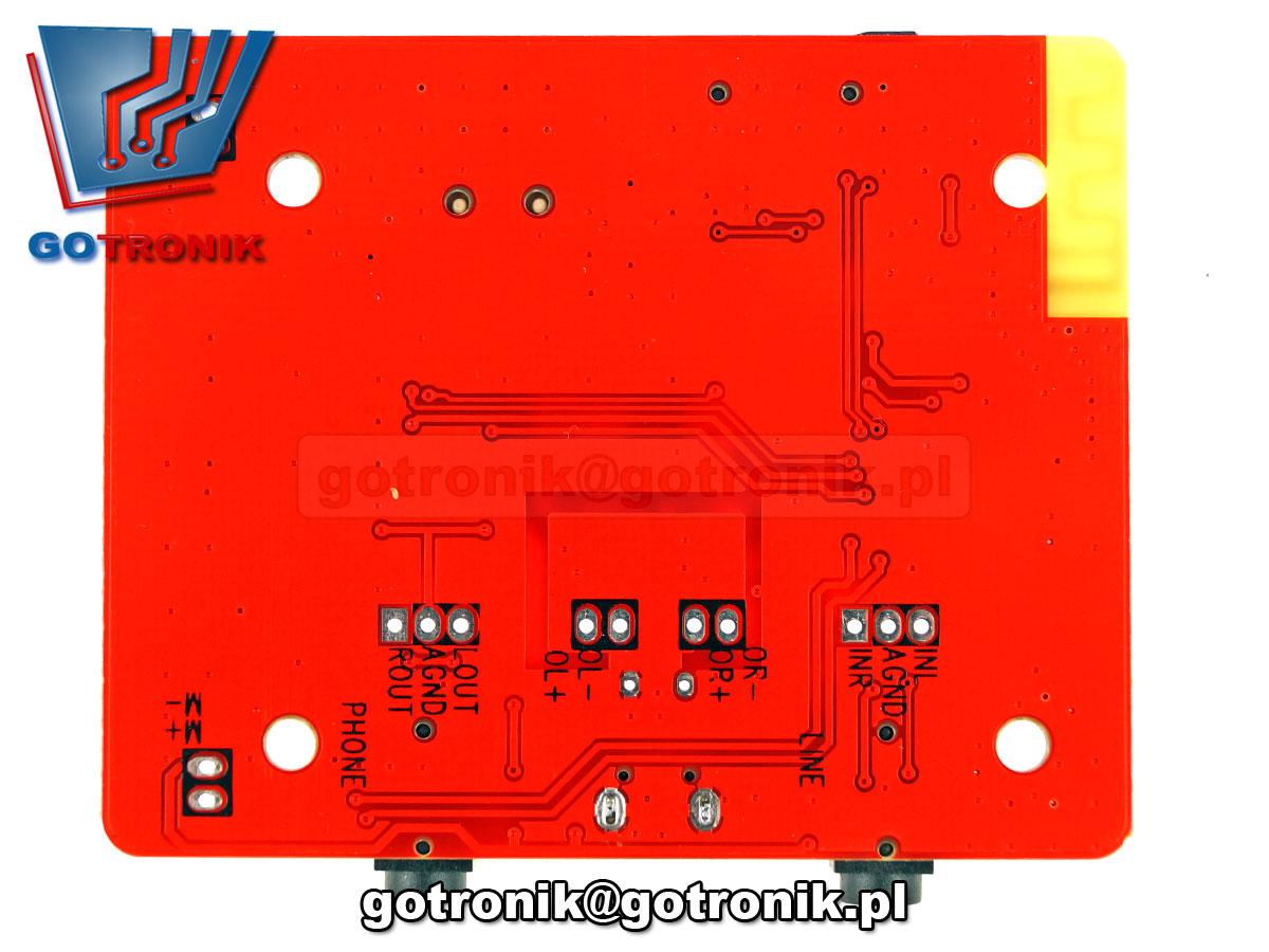 odtwarzacz MP3 dekoder audio Bleutooth stereo BTE-373