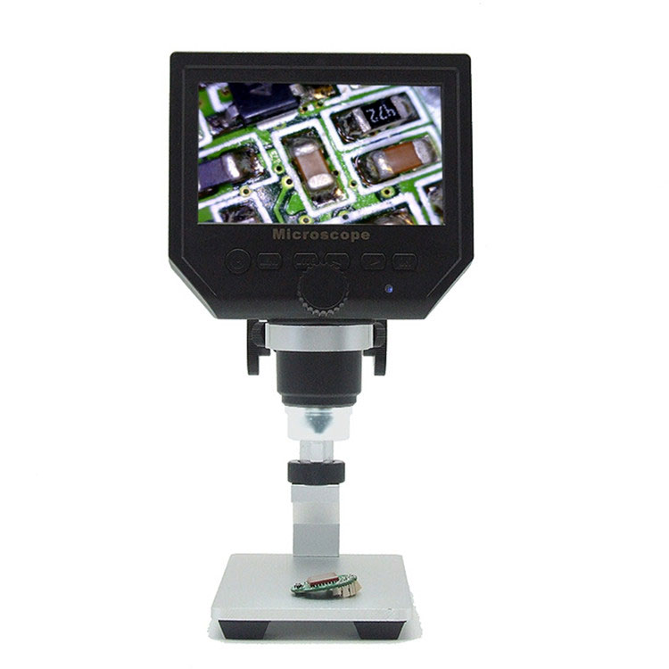 Mikroskop cyfrowy 600x + LCD + 8 Led BTE-553