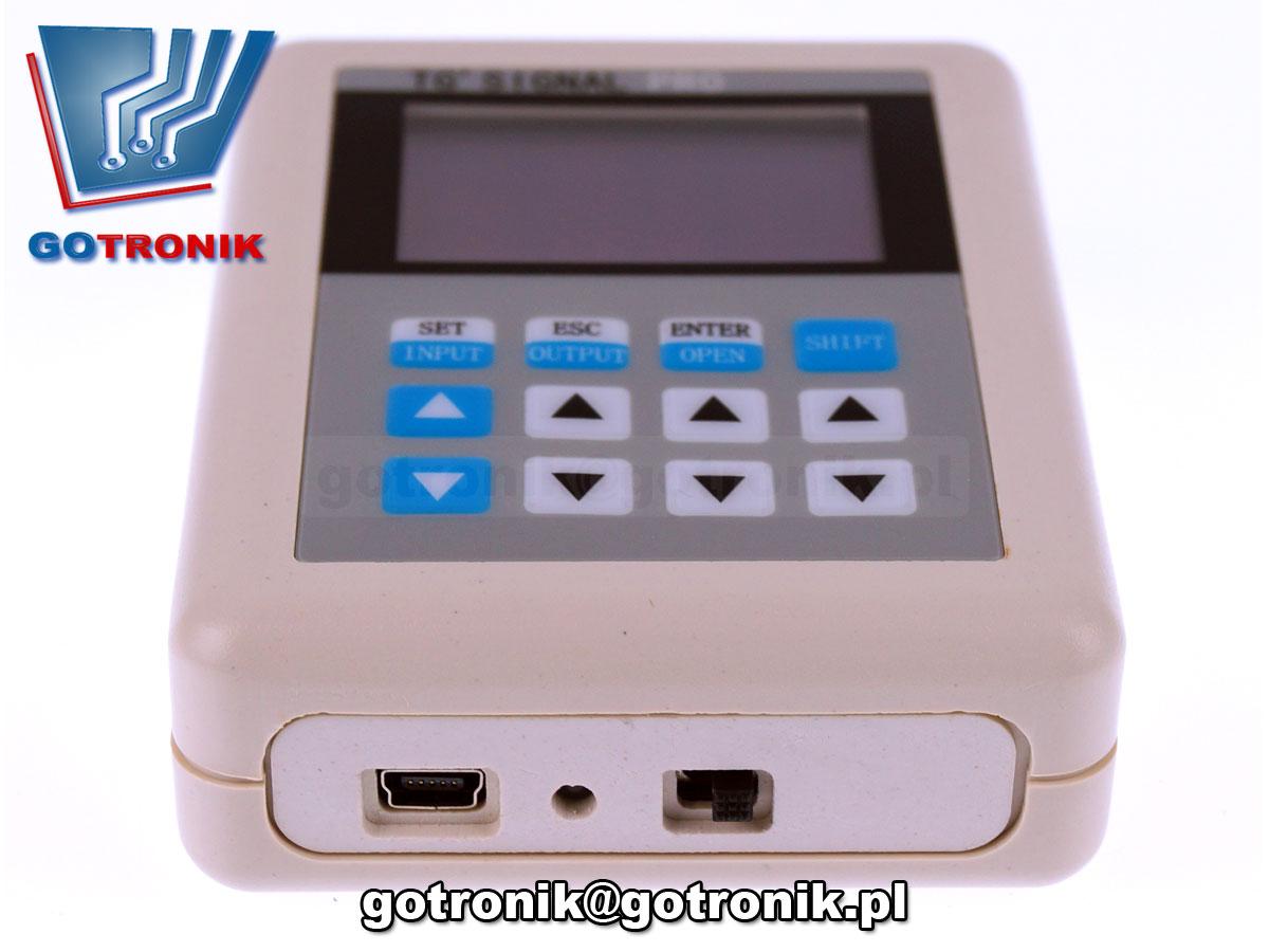 BTE-559 Kalibrator napięcia i prądu TG'Signal Pro