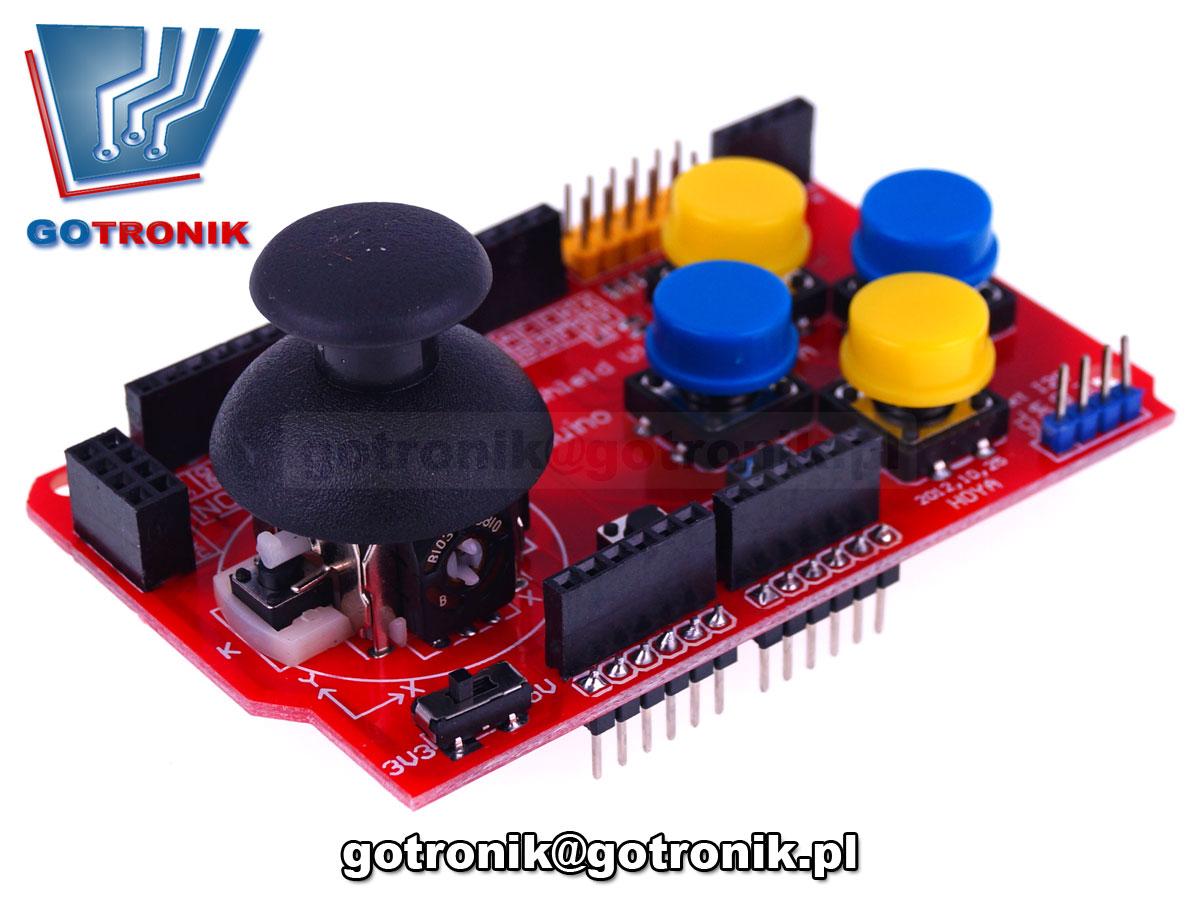 BTE-561 Joystick Shield - dżojstik dla Arduino UNO R3