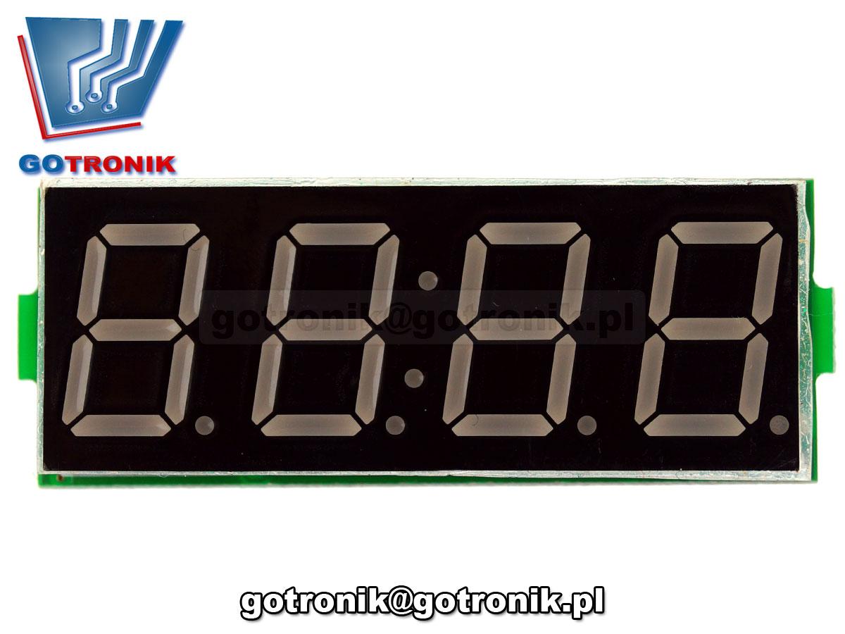 3w1 zegarek RTC DS3231 woltomierz dc 5V-30V termometr cyfrowy