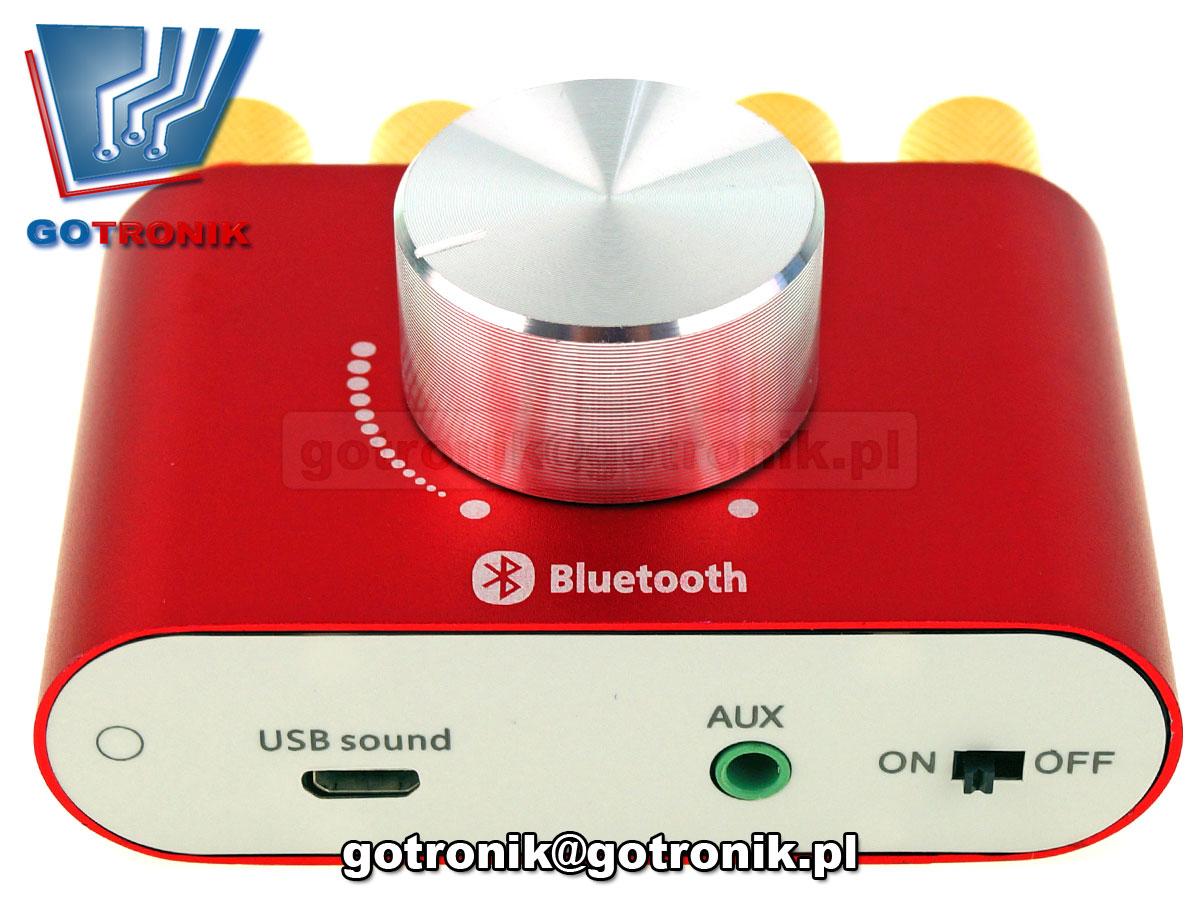 BTE-588 wzmacniacz mocy 2x50W TPA3116 + Bluetooth audio, cyfrowa karta muzyczna usb
