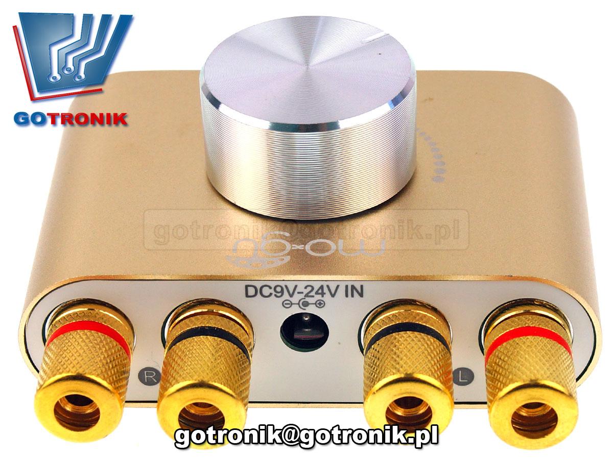 BTE-589 wzmacniacz mocy 2x50W TPA3116 + Bluetooth audio, czfrowa karta muzcyna usb