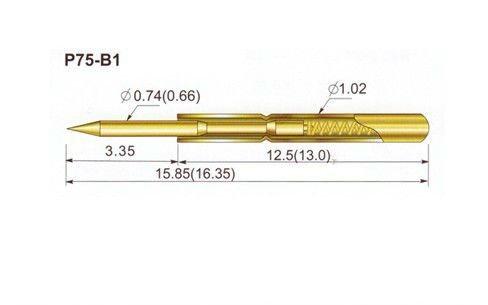 Igła testowa pomiarowa P75-B1 x 1szt. BTE-619