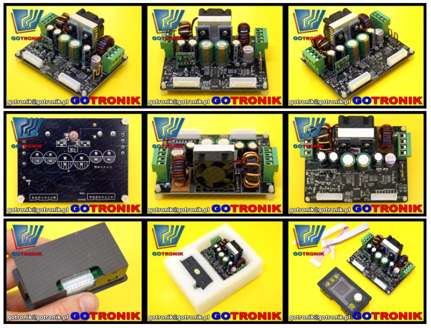 DPH5005 panelowy moduł zasilacza 0-50V 0-5A komunikacja USB moduł komunikacja USB moduł
