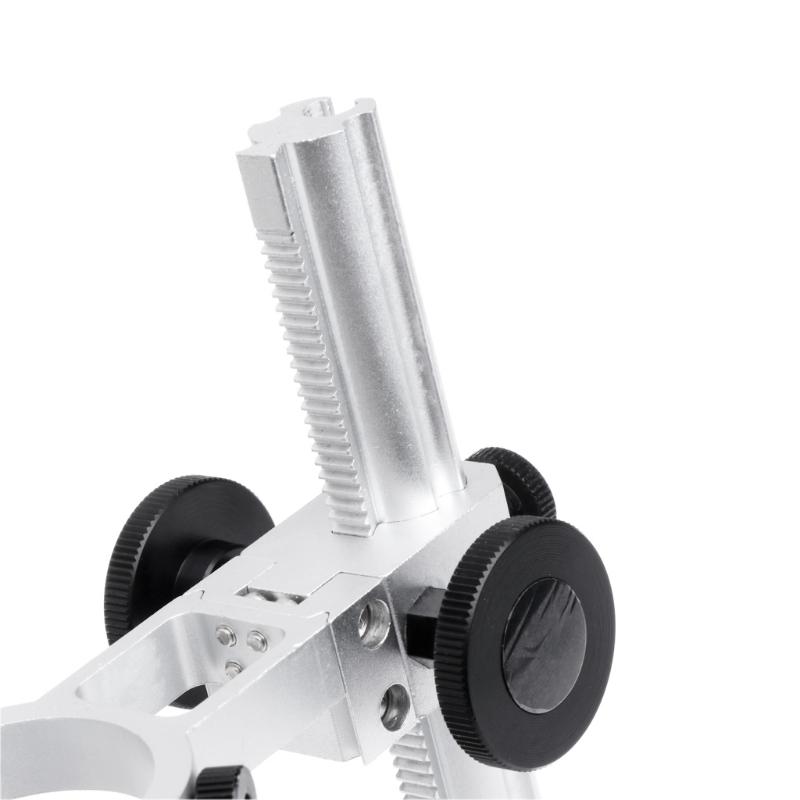 G600 aluminiowy statyw stojak do mikroskopów mikroskopu cyfowego USB metalowa podstawa