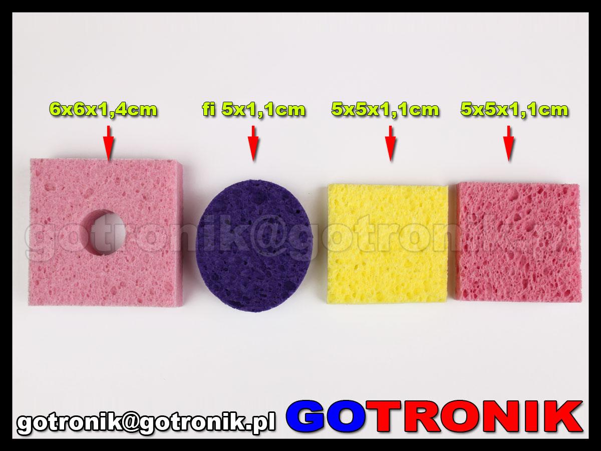 Porównanie gąbek - Gotronik