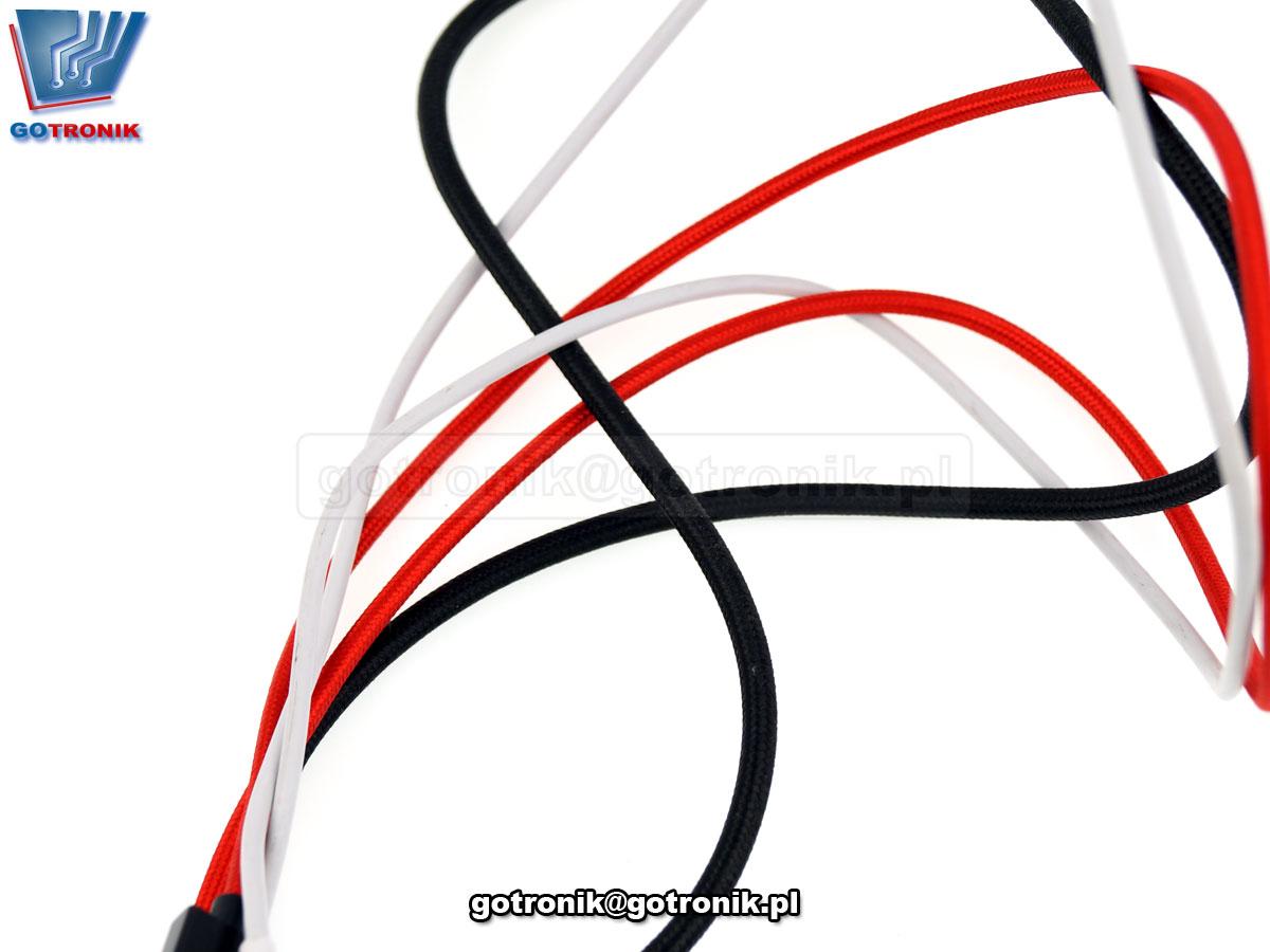 GOT-004 organizery rzepowe kolorowe do kabli i przewodów kolorowe 6 szt.