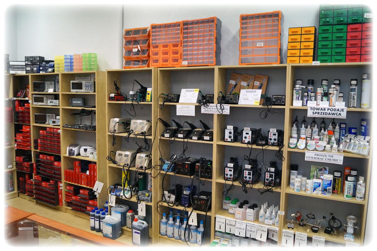 Gotronik ul. Bystrzycka 69C sklep dla elektroników z sprzętem lutowniczym, stacje lutownicze, rozlutownice