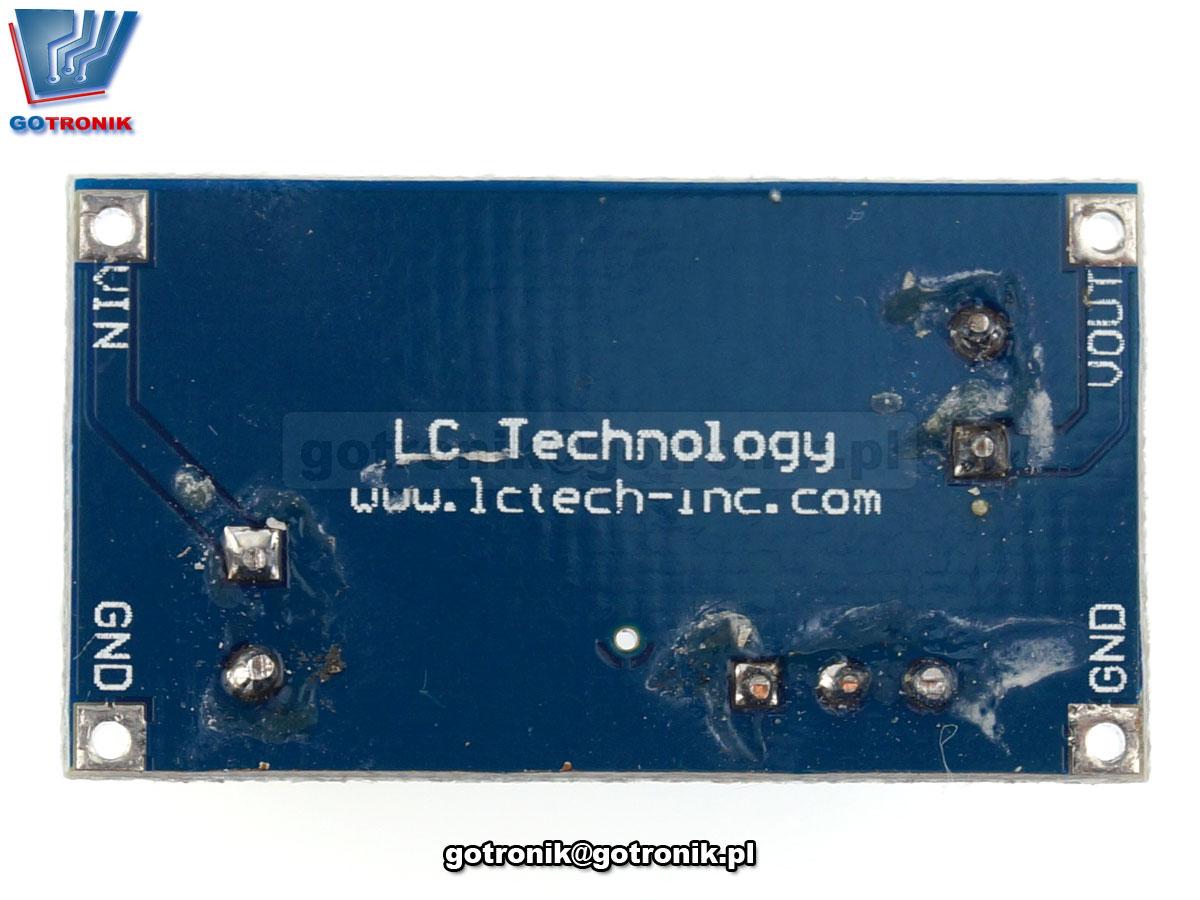 LCT-166 Przetwornica napięcia XL7005A step-down 5V do 20V
