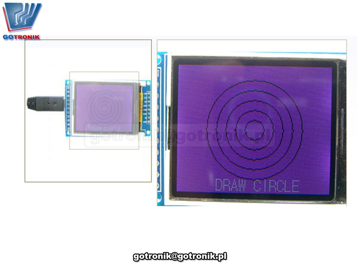 LCT-177 Wyświetlacz 1,8cala LCD 128x160 ILI9163