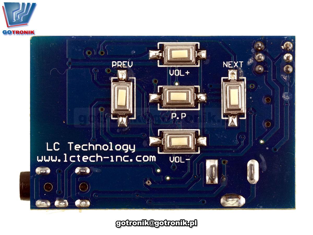 LCT-183 BK8000L odbiornik Bluetooth + wzmacniacz słuchawkowy TPA6132