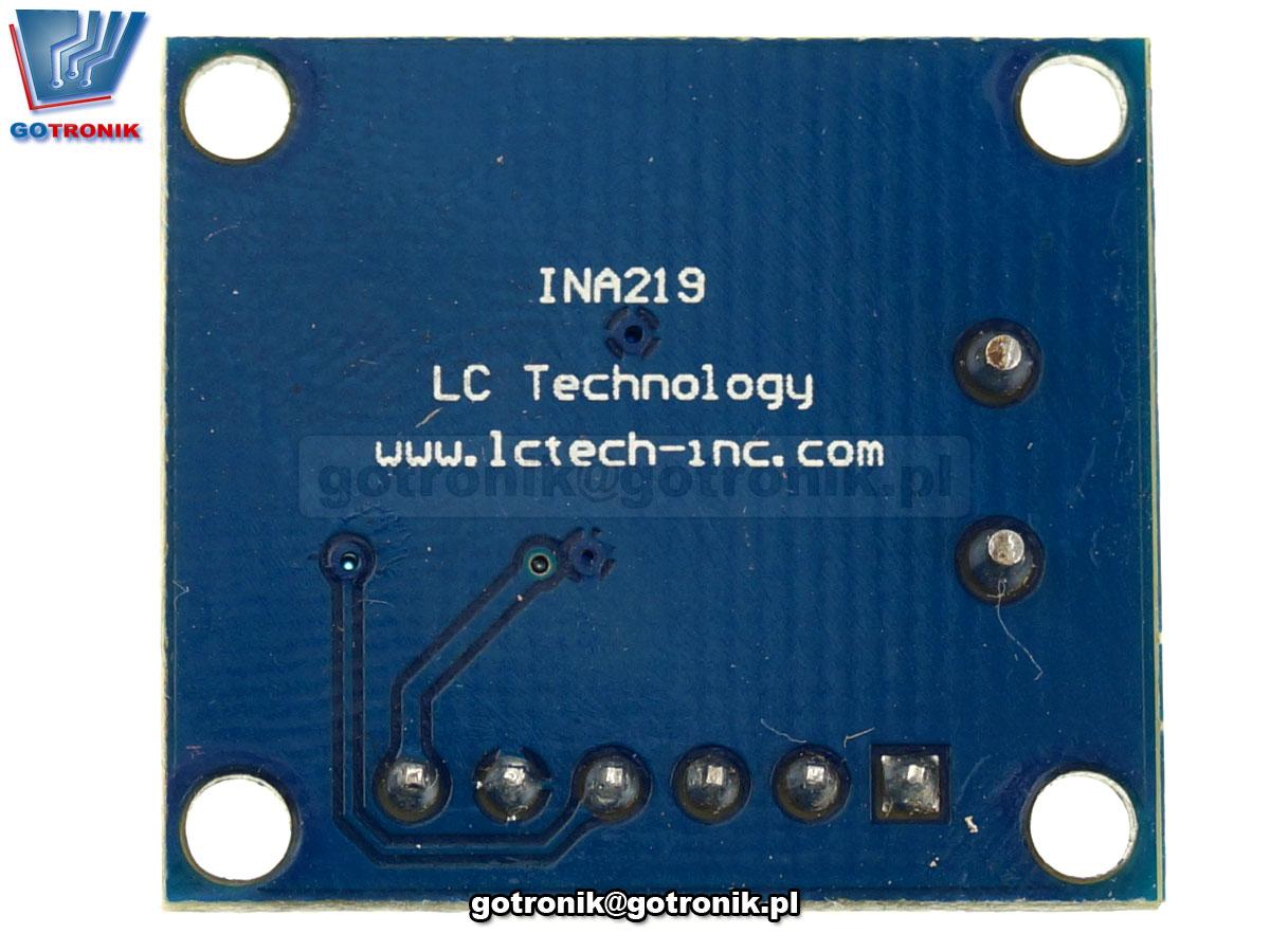 LCT-192 INA219 dwukierunkowy czujnik prądu z szyną I2C