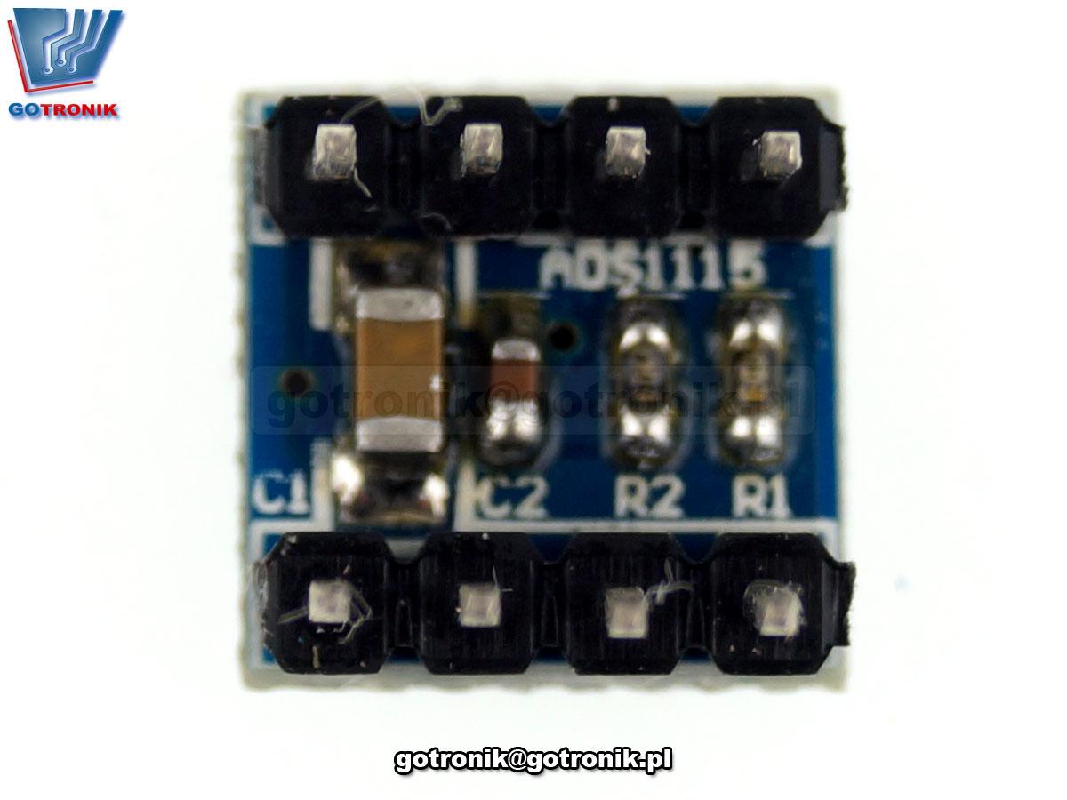 LCT-206 ADS1115 moduł przetwornika ADC 16bit 4 kanały I2C