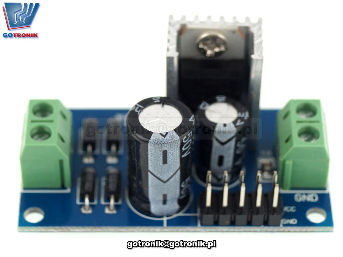 LCT-210 Zasilacz - stabilizator napięcia 5V 7805