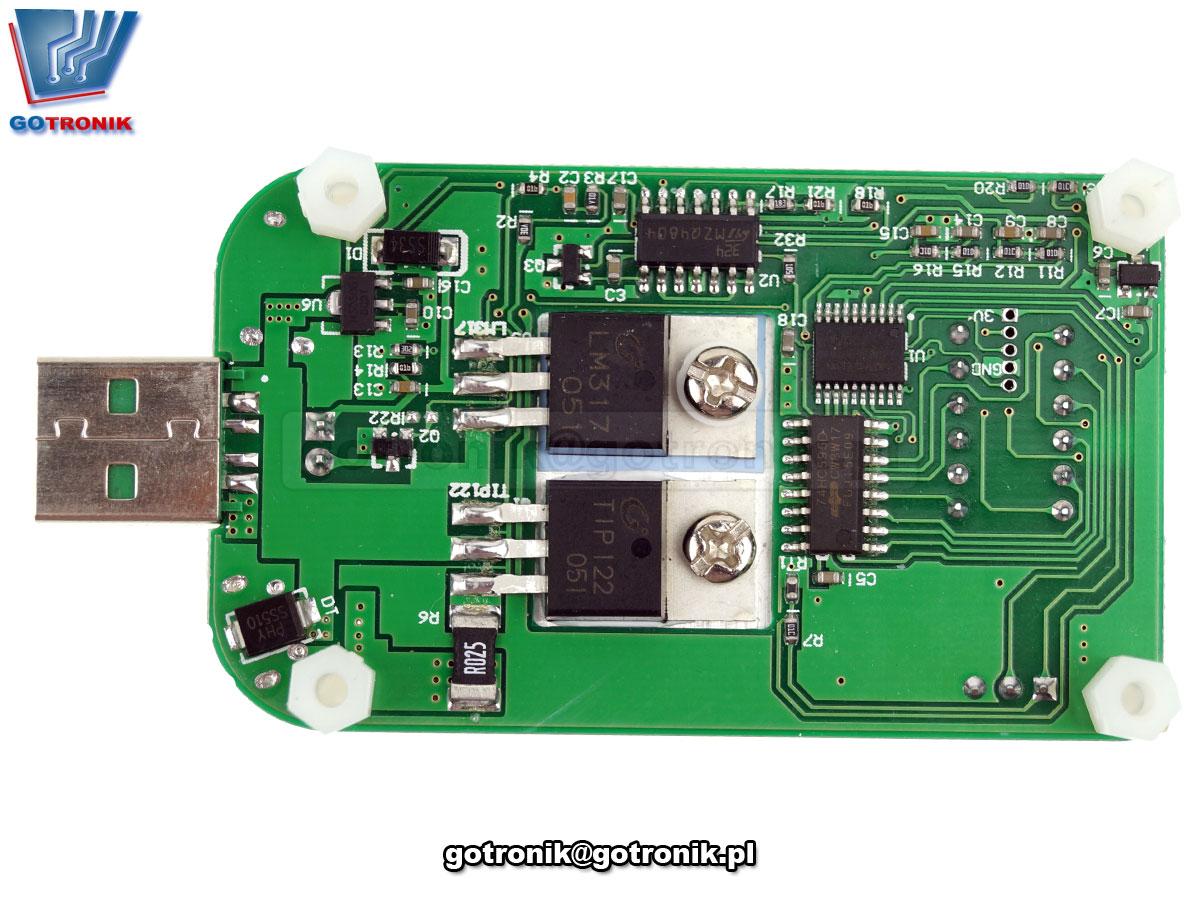 RD LD35 elektroniczne obciążenie 35W DC Electronic Load resistor USB