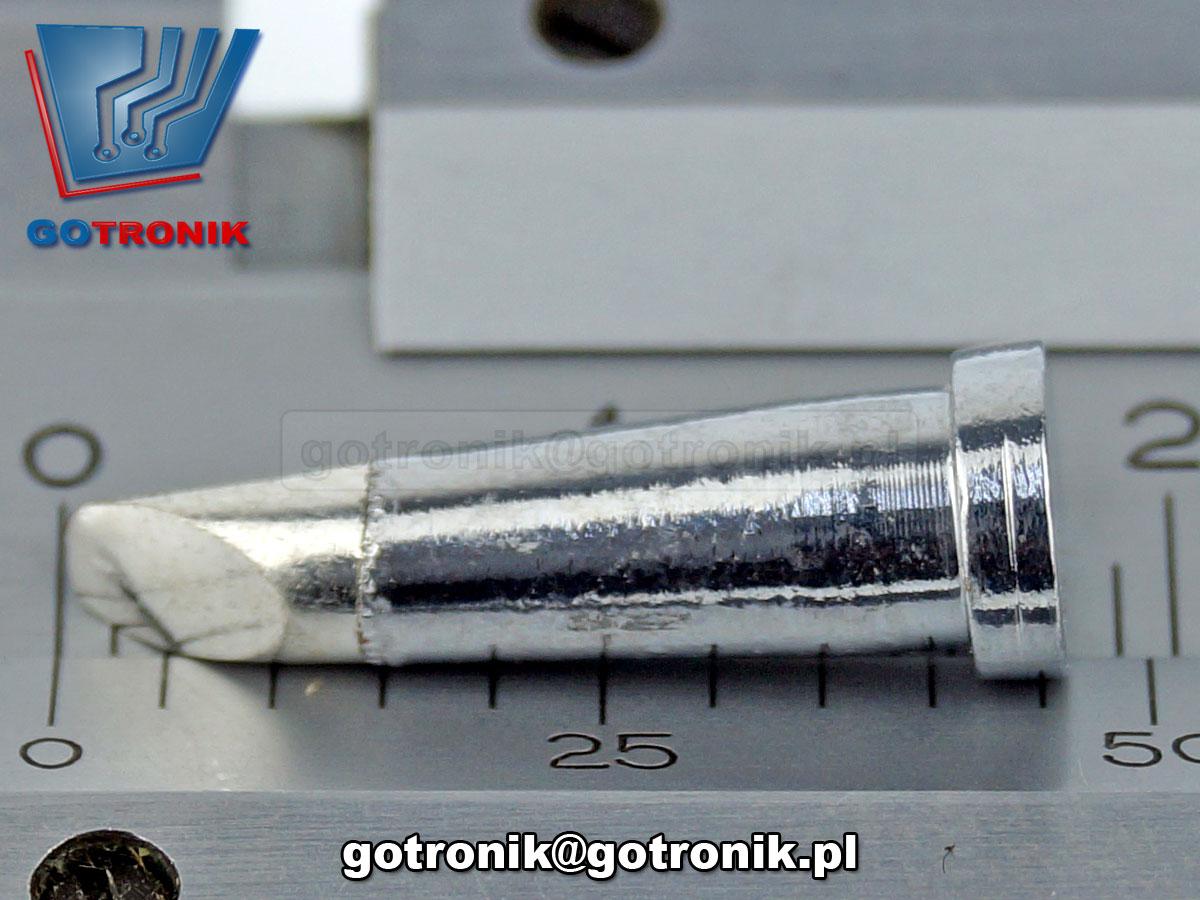LTCC 3.2mm 60º grot ścięty 3,2mm grot do Weller WSP80, WSD81, WS81 LW-100 LW100 Longwei grot ścięty LT-CC