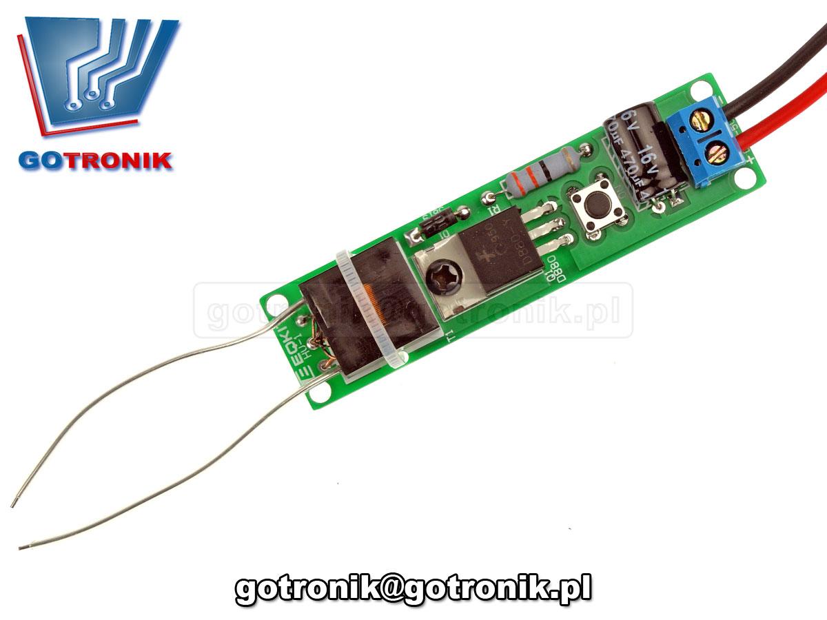 przetwornica wysokiego napięcia HV HV-1 ELEK-127 - zestaw do samodzielnego montażu KIT DIY