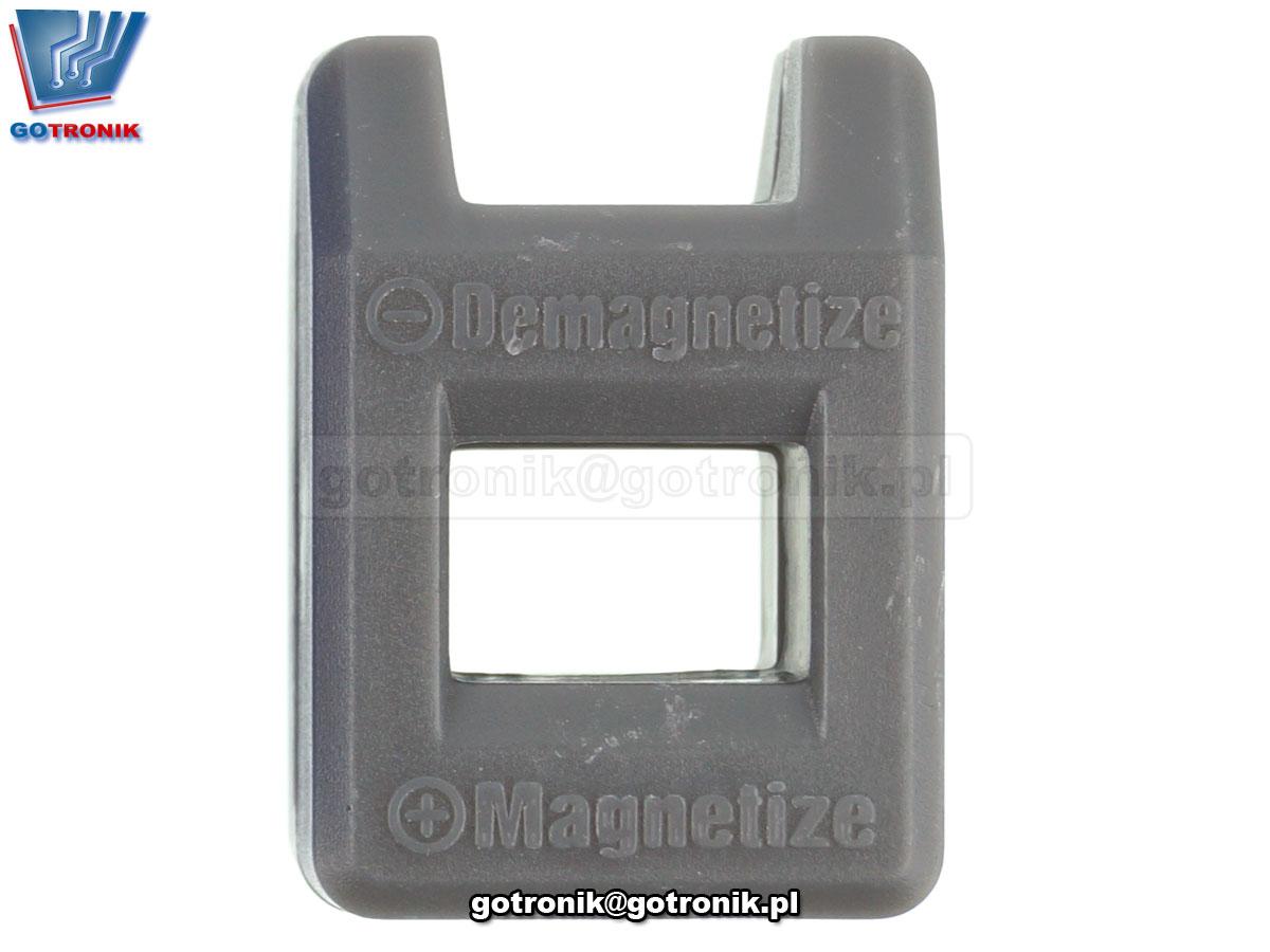 Magnetyzer, demagnetyzer, magnesowanie narzędzi, elementów metalowych