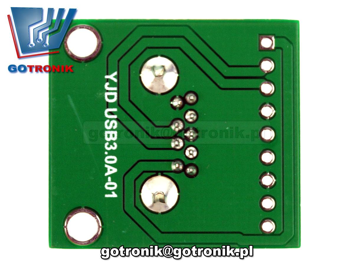PCB-103 gniazdo USB 3.0 3,0 typ A adapter prototypowe PCB