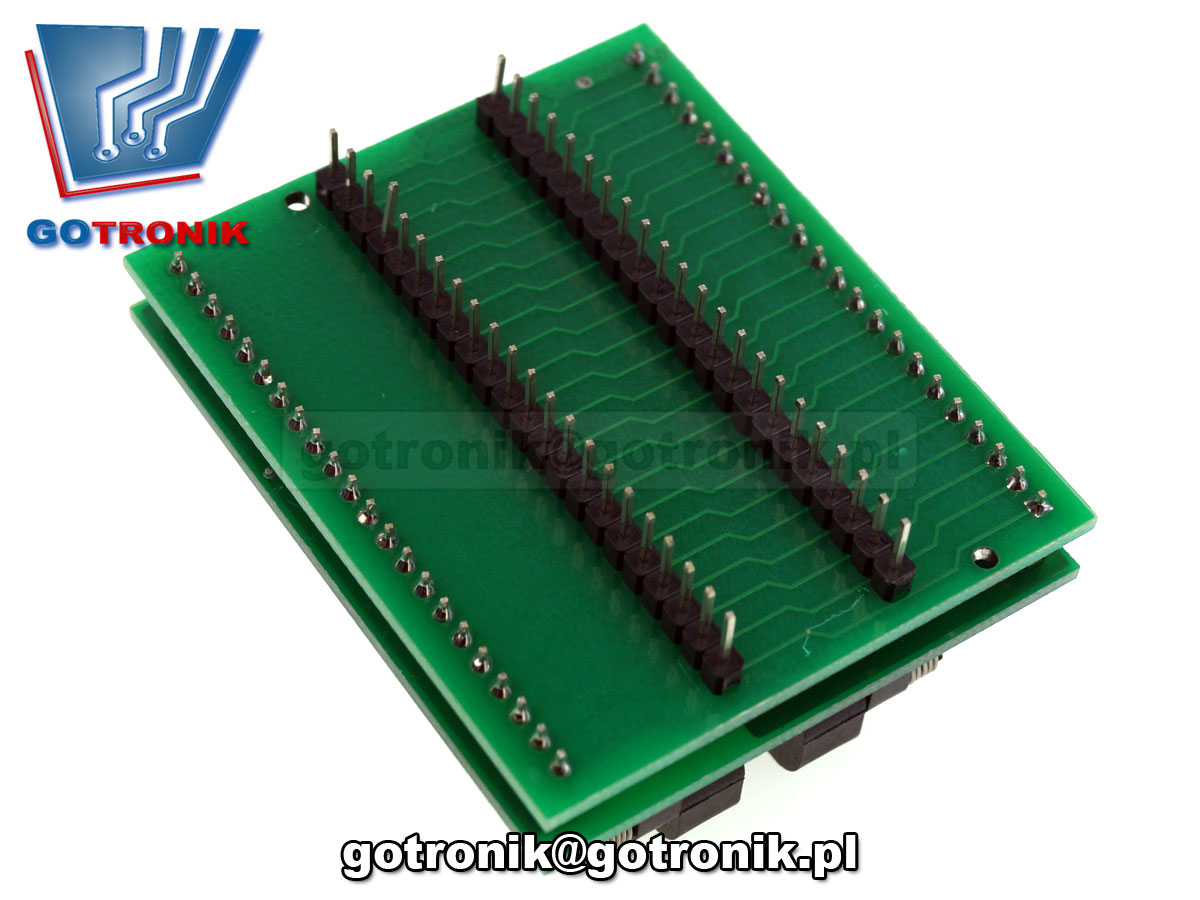 a-083 adapter sdp-univ-44 plcc44 dip44 1:1 adaptor IC51-0444-400 Yamaichi do programatora podstawka testowa