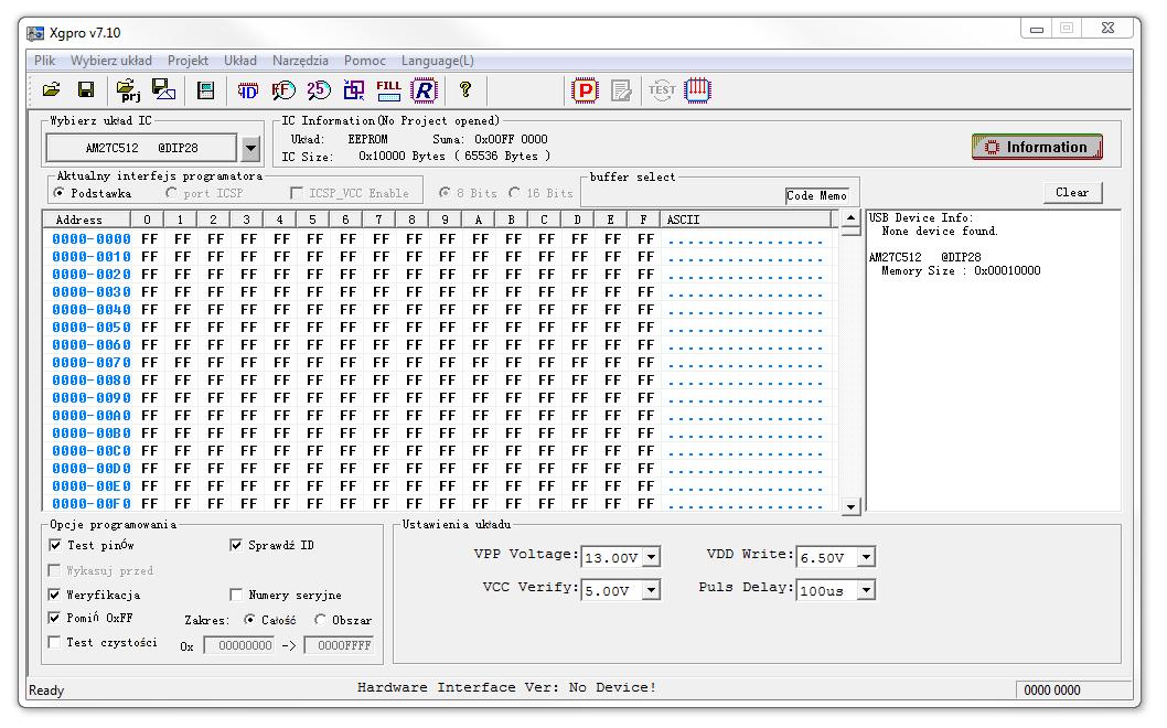 TL866II Plus programator uniwersalny