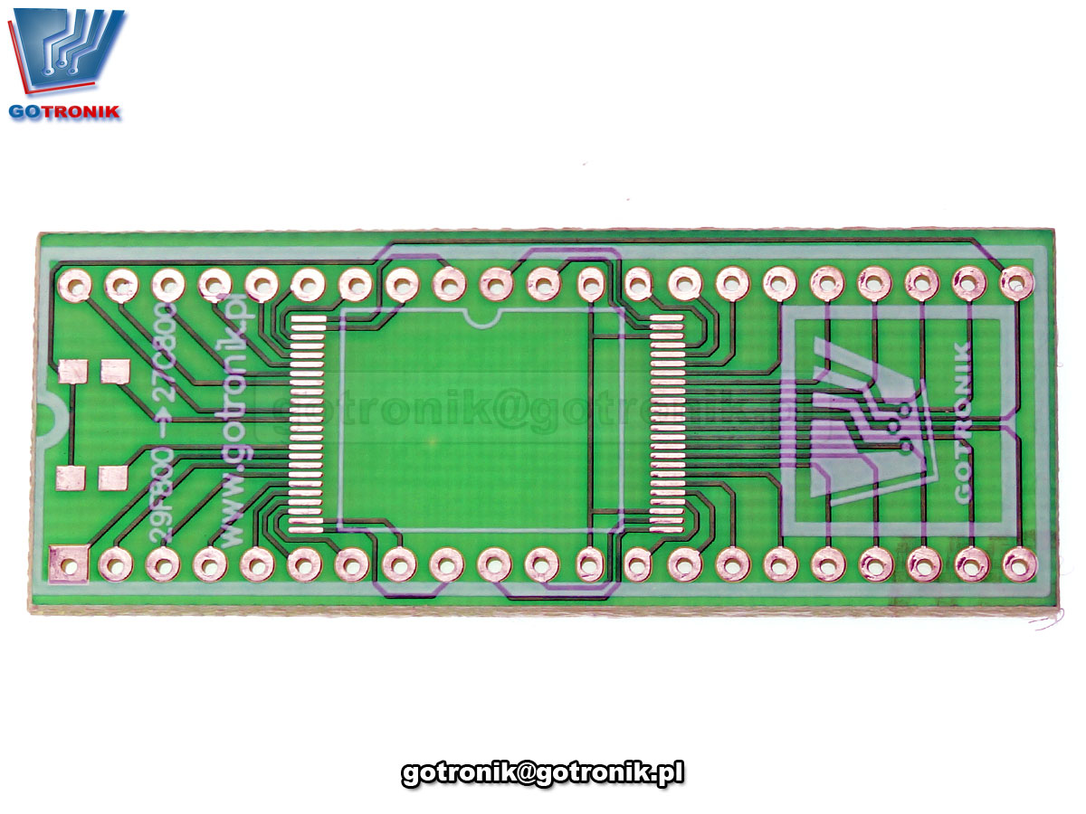 TSOP48 na DIP42 płytka drukowana PCB