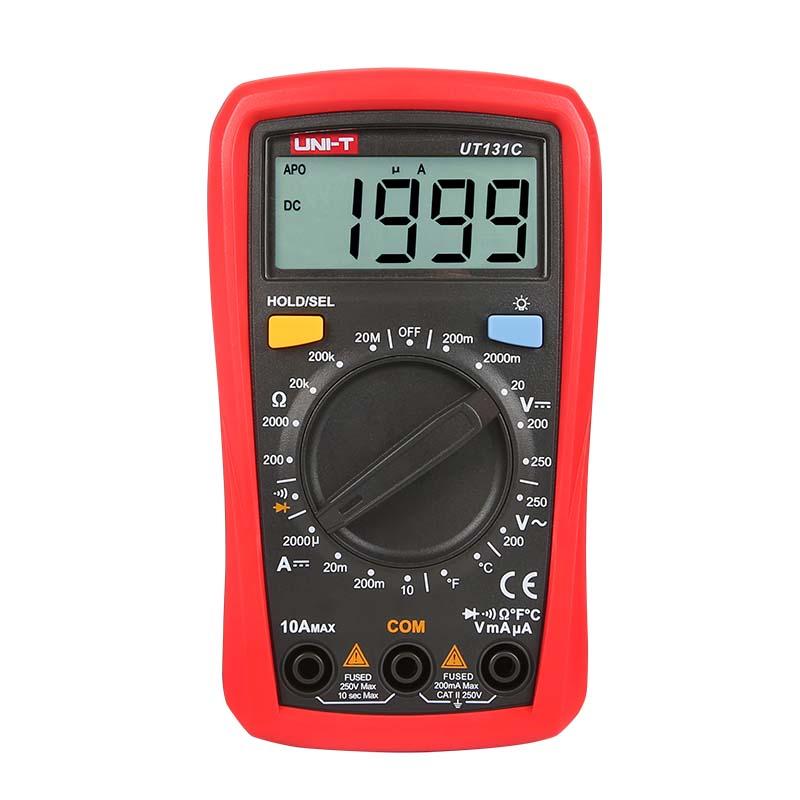 UT131C, UT-131C, unit, miernik uniwersalny, miernik cyfrowy, multimetr cyfrowy, pomiar elektryczny,