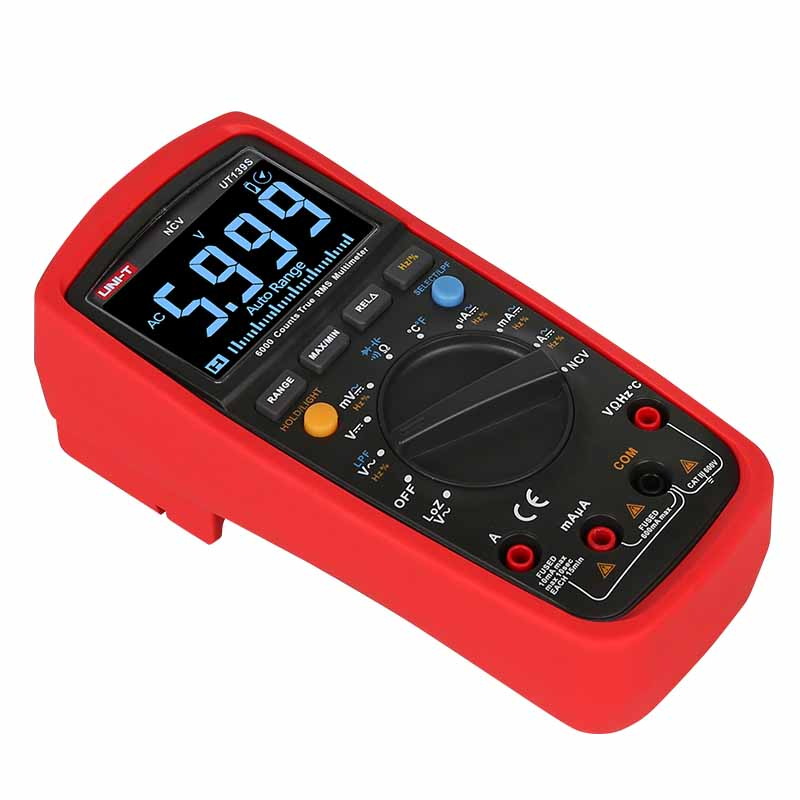 UT139S miernik uniwersalny true rms multimetr cyfrowy uni-t UT1-39S