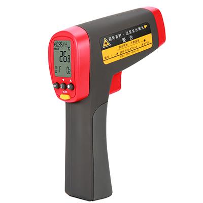 UT302D produkcji Unit to cyfrowy miernik wykorzystujący podczerwień do zdalnego (bezkontaktowego) pomiaru temperatury