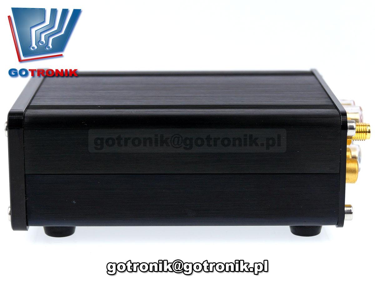 wzmacniacz mocy audio TPA3116 2x50W obudowa aluminiowa stereo odbiornik bluetoothstereo odbiornik bluetooth BTE-590