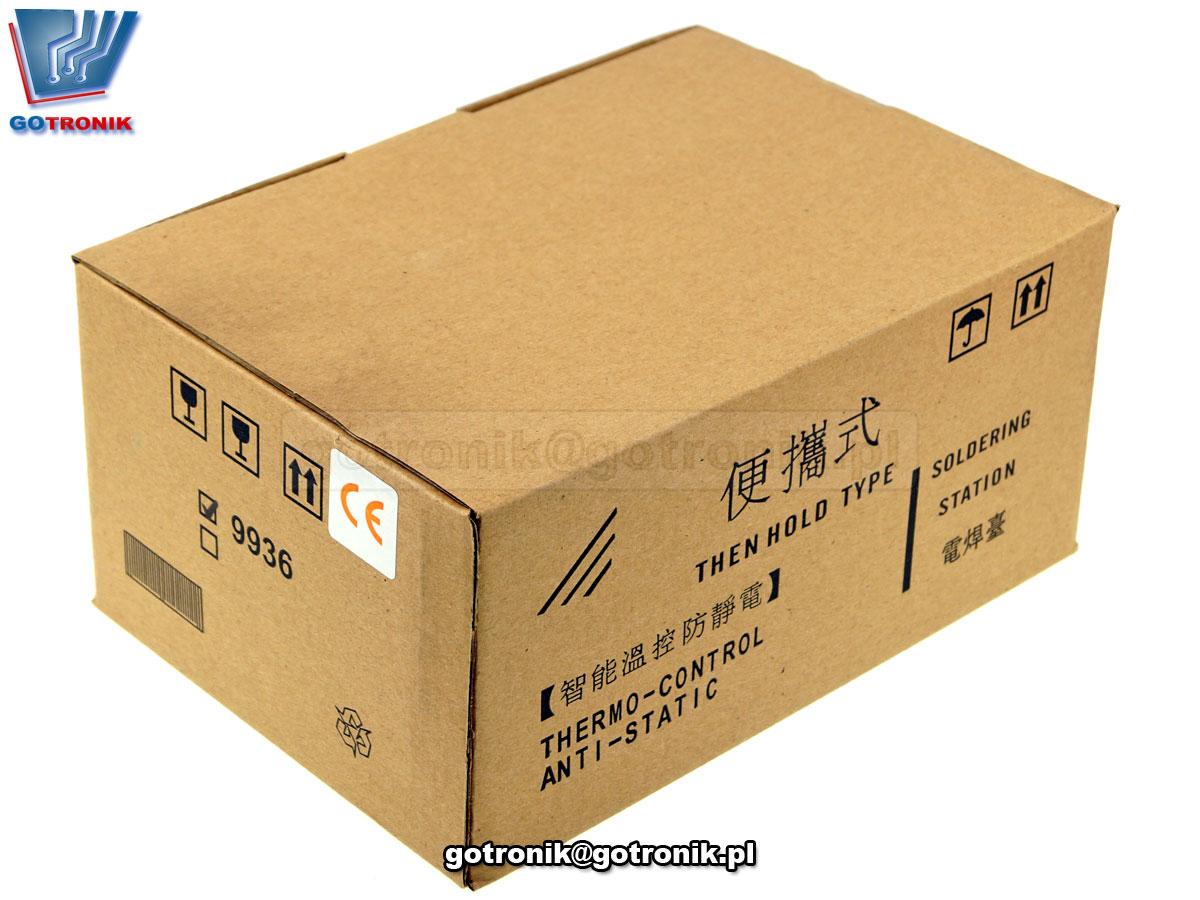 Yihua 9936 stacja lutownicza lutownica z regulacją temperatury LED cyfrowa 480C