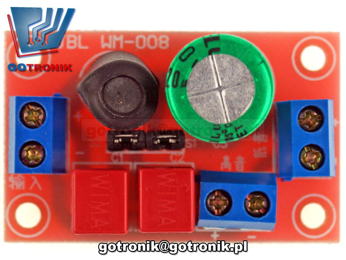 zwrotnica głośnikowa ELEK-119 - zestaw do samodzielnego montażu KIT DIY