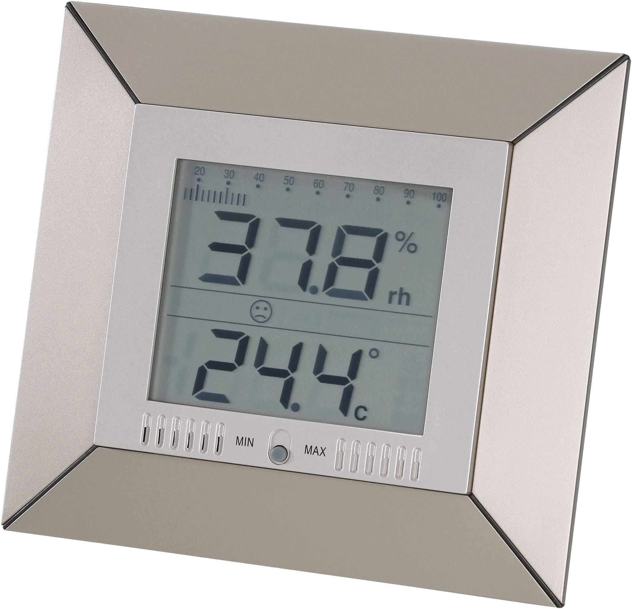 NAR-158 Termohigrometr wewnętrzny -9,9 do +50°C 1 do 99 %