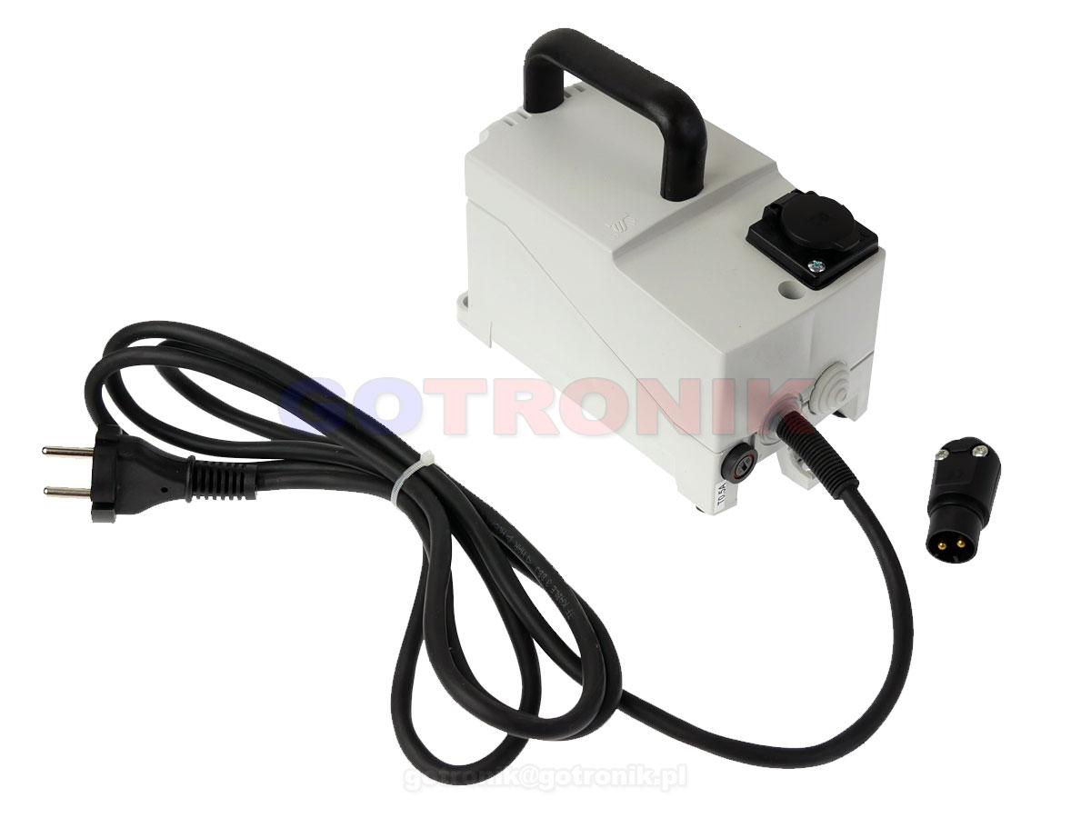 Transformator separacyjny 230V - 24V PFS100 przenośny