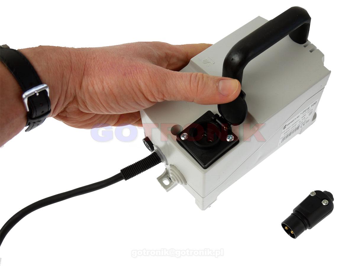 Transformator separacyjny 230V - 24V PFS100