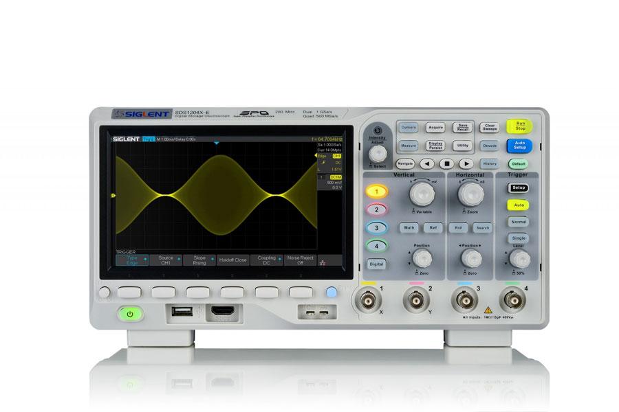 SDS1104X-E oscyloskop cyfrowy 4x100MHz Super Phosphor SIGLENT
