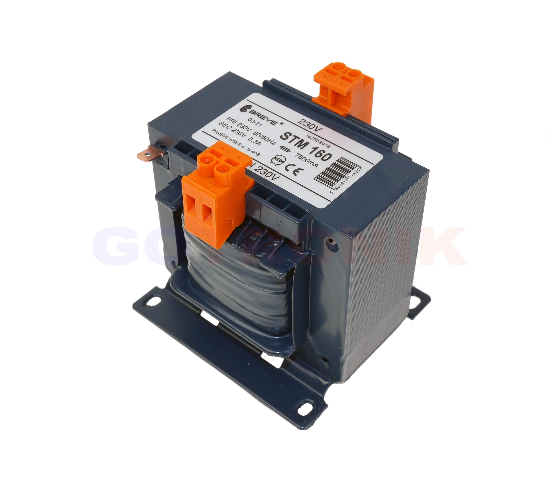 Transformator separacyjny 230V 24V STM63