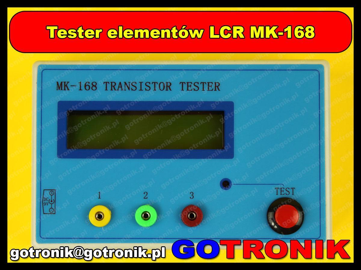 Miernik elementów elektronicznych LCR MK-168