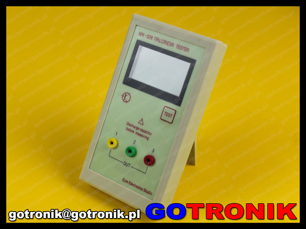 Miernik elementów elektronicznych LCR MK-328