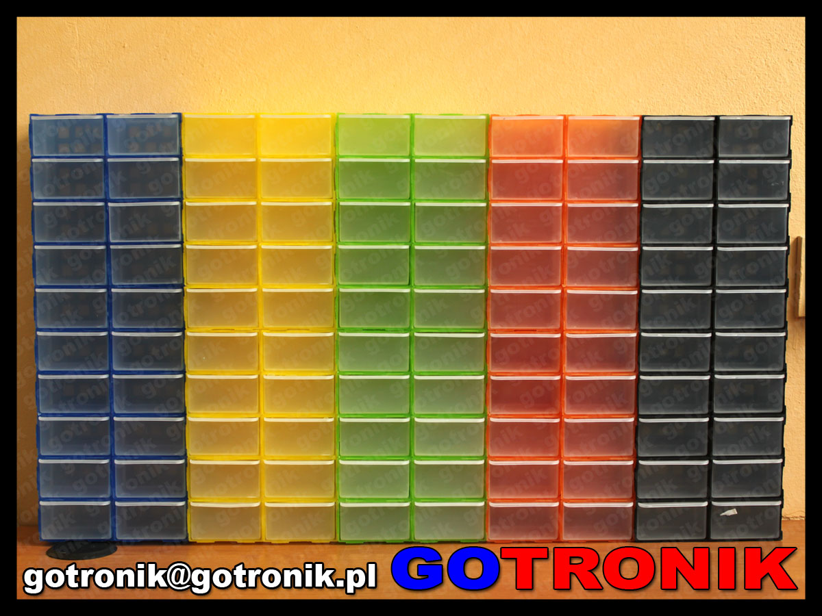 100 sztuk szufladek organizerów skrzynek