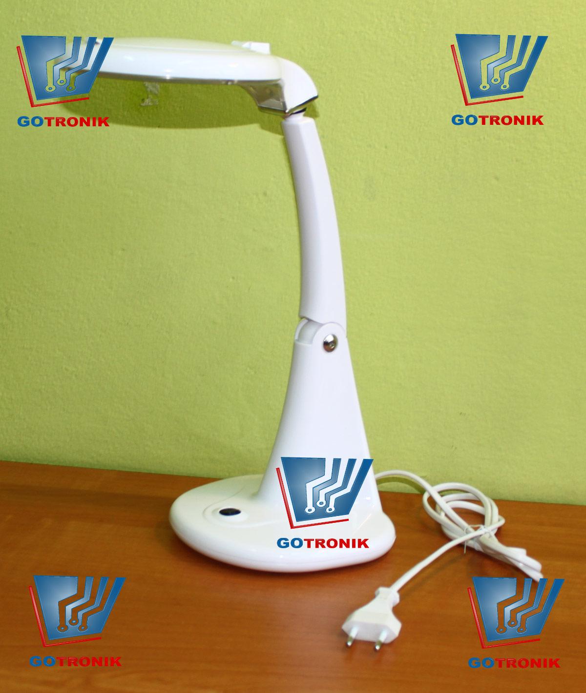 Lampa biurkowa z lupą 96mm 3D+12D 8093 60x LED