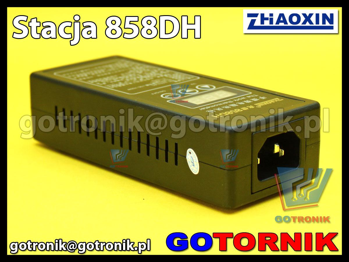 Lutownica na gorące powietrze 858DH cyfrowa HOT-AIR ZHAOXIN