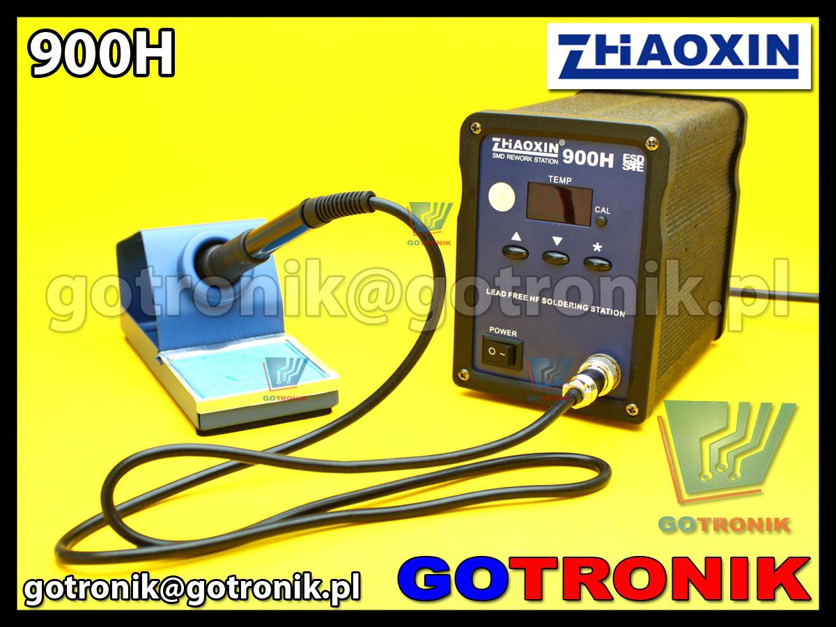 Stacja lutownicza Zhaoxin 900H 90W zasilana wysoką częstotliwością 400kHz HF lead free soldering station