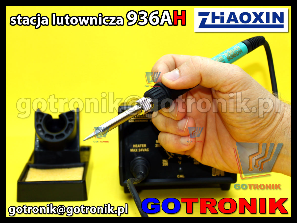 Stacja lutownicza 936AH Zhaoxin moc 75W ESD