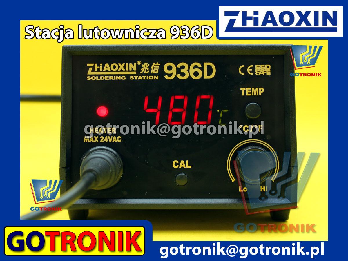 936D cyfrowa stacja lutownicza ZHAOXIN