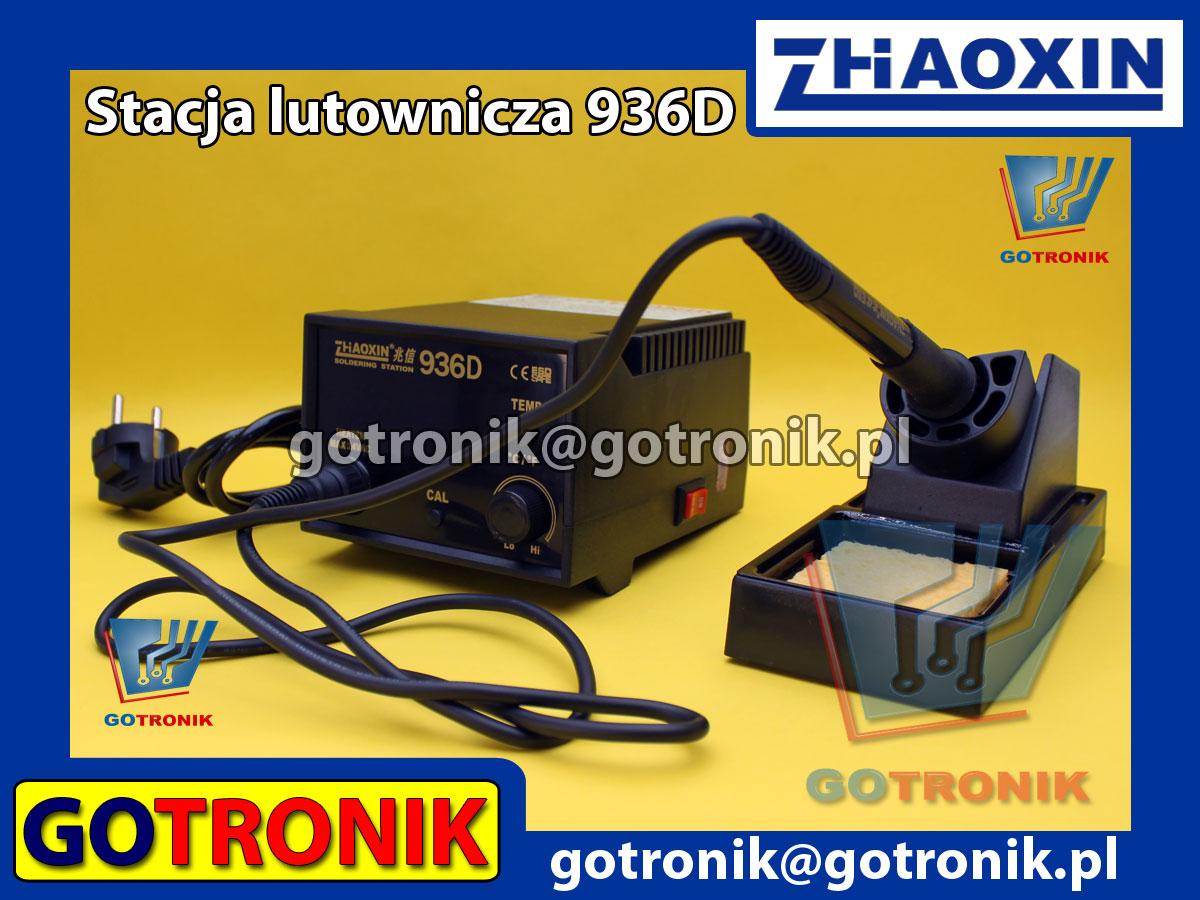 Stacja lutownicza 936D cyfrowa Zhoaxin w ofercie GOTRONIK