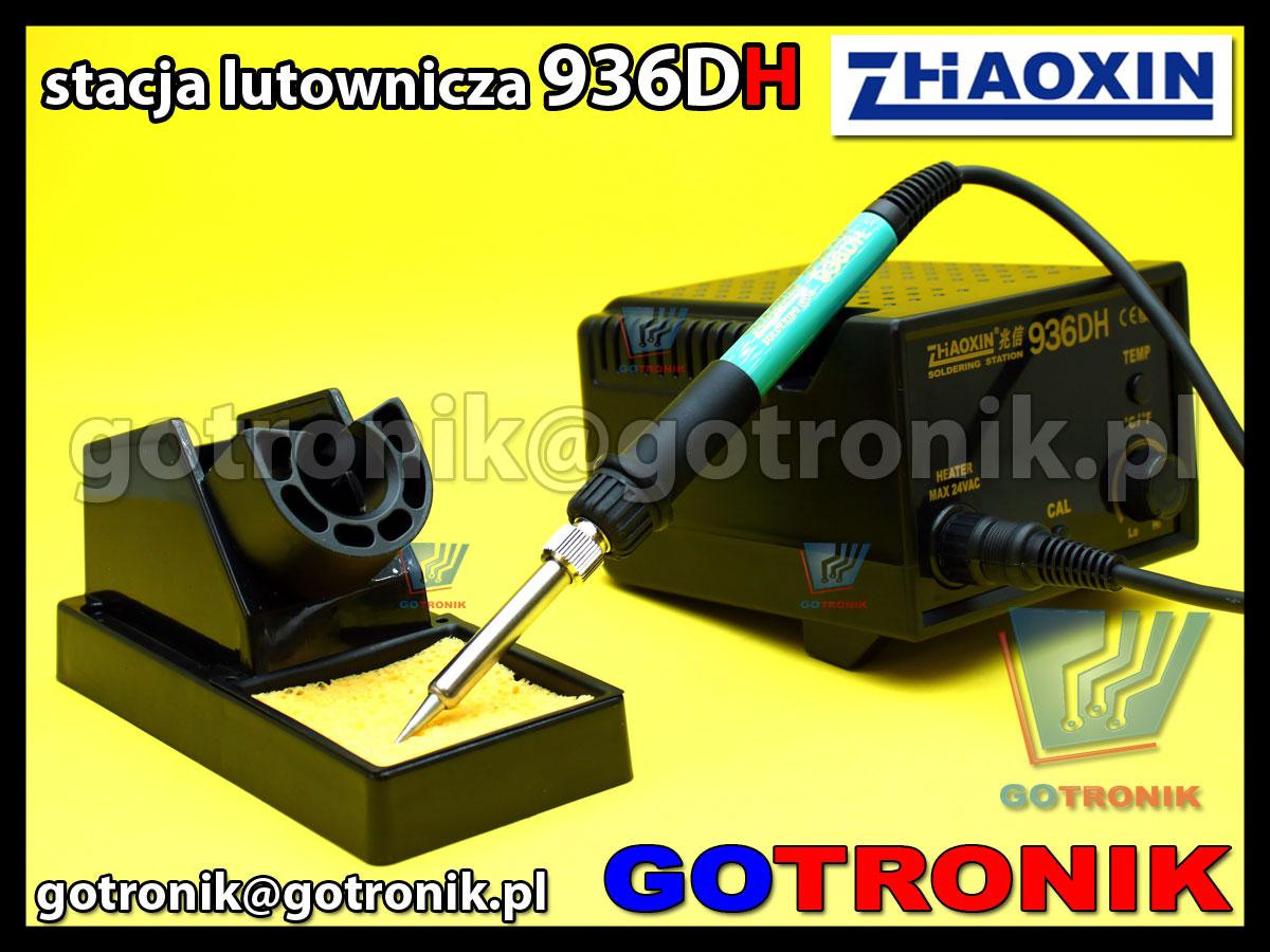 Stacja lutownicza 936DH Zhaoxin moc 75W ESD z cyfrowym wyświetlaczem temeratury