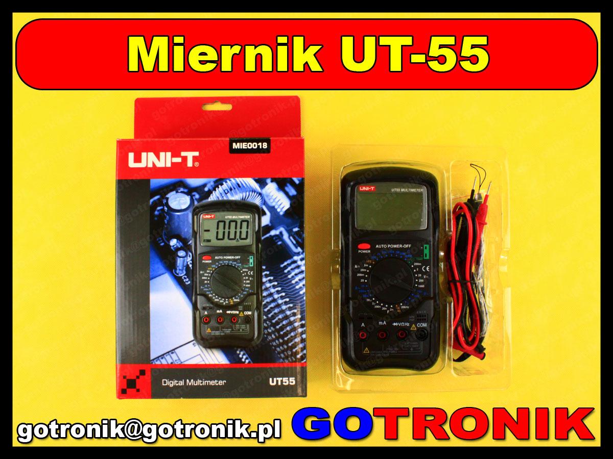 UT-55 Unity uniwersalny multimetr UNI-T